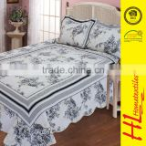 BSCI certification active printed bedclothes bedding set,used hotel satin bedspreads,import flame retardant bedding article