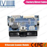 LV12 Mini OEM 1D Scanner Barcode Printer for Kiosk and Cash Register