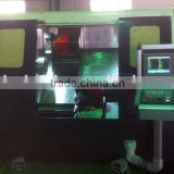 multi spindle cnc lathe full function mini metal machine lathe /double spindle cnc
