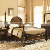 4 poster bed bedroom furniture set unique headboard wooden bed manufacturer