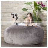King-size Foam Filled Beanbag/suede bean bag sofa                                                                         Quality Choice