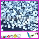 2014 New cheapest resin stones flat back non hot fix rhinestones beads for nail art phone decorations                                                                         Quality Choice