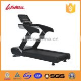 hot commercial electric treadmill in 4.0HP ow-noise AC motor of running board in 30 mm and solid steel,aluminium alloy LJ-9503