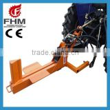 China fhm top quality CE screw log splitter industrial log splitters cheap log splitter for sale