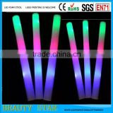 2016 Cheapest wholesale light up led flashing foam stick for party,event,festival