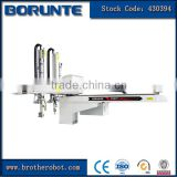 CNC Gripper Robot Arm For Vertical Injection Molding Machine