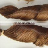 100% Pure Virgin Brazilian Bulk Hair Extensions Without Weft