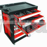 2015 HIGH QUALITY tool trolley 220pcs tool cabinet with swiss kraft professional 220pcs tools