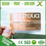 304 Stainless Steel Metal mirror card/ Cheap black matt metal card/ Multi-purpose brushed metal business card