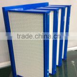 sub-high efficiency V-type hepa air filter for purifying air/V-type Medium Air Filter/4V type filter