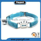 New Fashion China Supplier Top Quality Bling Rhinestone Cat Collars