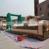 Military Inflatable Obstacle Course 2015 giant children Inflatable Playground Challenge Bouncing for adults