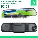 4.3 Inch LCD Monitor Auto Reversing System Waterproof Car Rear View Camera