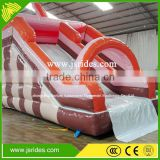 bounce round inflatable water pool slide for sale inflatable pool slides for inground pools
