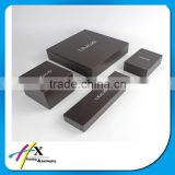 hot silver stamping jewelry box custom logo printing