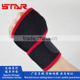 FDA Approved Hot sale neoprene black fitted wrist brace support,wrist sweat bands,compression yoga wrist support