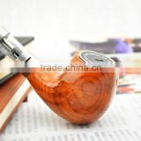 wood pipe, wood tobacco pipe, smoking pipe