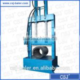 Efficient Rubber Tire Plastic Wrap Cutter Hydraulic Cutting Machine