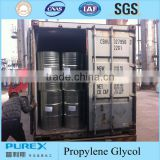 propylene glycol supplier, high purity 99.5%min, indsutrial grade and pharma grade