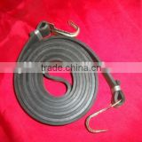 jumping gray strong flat bungee rope/bungee cord