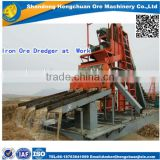 Diesel Engine Powered Pump Iron Sand Dredger with Strong Structure