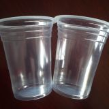 12oz/360ml PP disposable plastic beverage cup / disposable plastic drink cup