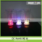 Factory sale Romantic liquid active LED Party Glasses
