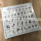 Universal 42 pcs Prices Sewing Machine Feet Set Mini Sewing Machine Braiding/Blind Stitch/Darnign Foot Kit