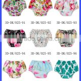2016 Boutique Baby Bloomers Wholesale Fresh Color Cloth Diaper Cover Cotton & Polyester Bloomers For Kids