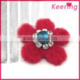 2016 New arrival flower rhinestone beaded patch for applique