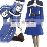 Fantasia Anime Lolita Dress-Best Selling Fairy Tail Rain Woman Juvia Lockser Blue Lolita Dress Anime Cosplay Costume C0148
