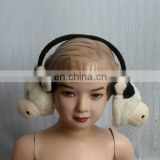 High Quality Cute Fluffy Plush Animal Earmuff for Adult and Kids