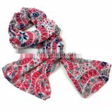 INquiry about Polyester scar viscose scarf