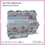 Multifunctional non-woven file box without lid