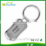 Elongated Metal Keyring