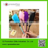 Plastic creative stationery gel pen/colorful feather for children study