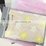 non woven clear zip lock tshirt packaging plastic bag