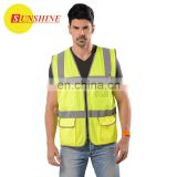 Reflective inexpensive Safety fashion vest 2017