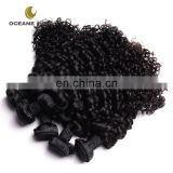 New style durable natural hotsale peruvian deep curly wavy remy hair