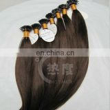 alibaba express raw unprocessed 100% human brazilian virgin hair pre-bonded hair