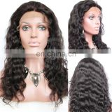 Super thin skin hair wig men brazilian human Curly hair lace before High quality brazilian human hair