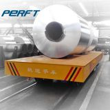 40 Ton Steel Coils Motorized Rail Coil Transfer Car for Heavy Duty Plant Warehouse Material Transportation