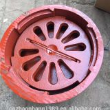 Cast iron explosion-proof floor drain Basement kitchen floor drain Civil air defense floor drain Explosion-proof floor drain