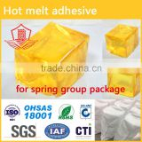 hot melt adhesive for spring group package
