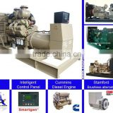 SINGFO 130KVA electronic open type diesel generators with Global warranty and CE certification from Chinese market
