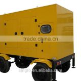 CE certification 10KVA tailer type portable electrical diesel generators with 403D-11G engine for sale