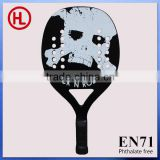 rock n roll new wooden beach racket PVC transparent bag /beach paddle / wooden beach paddle best new beach ball racket