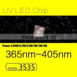 UVLED 1W 3535 smd uv 365nm with CE rohs LOW price