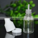 New product 5ml dropper pet bottle child proof cap with tamper evident ring triangle on the top