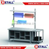 (DETALL Brand) Professional packing table with cutter and ball transfer unit                                                                         Quality Choice